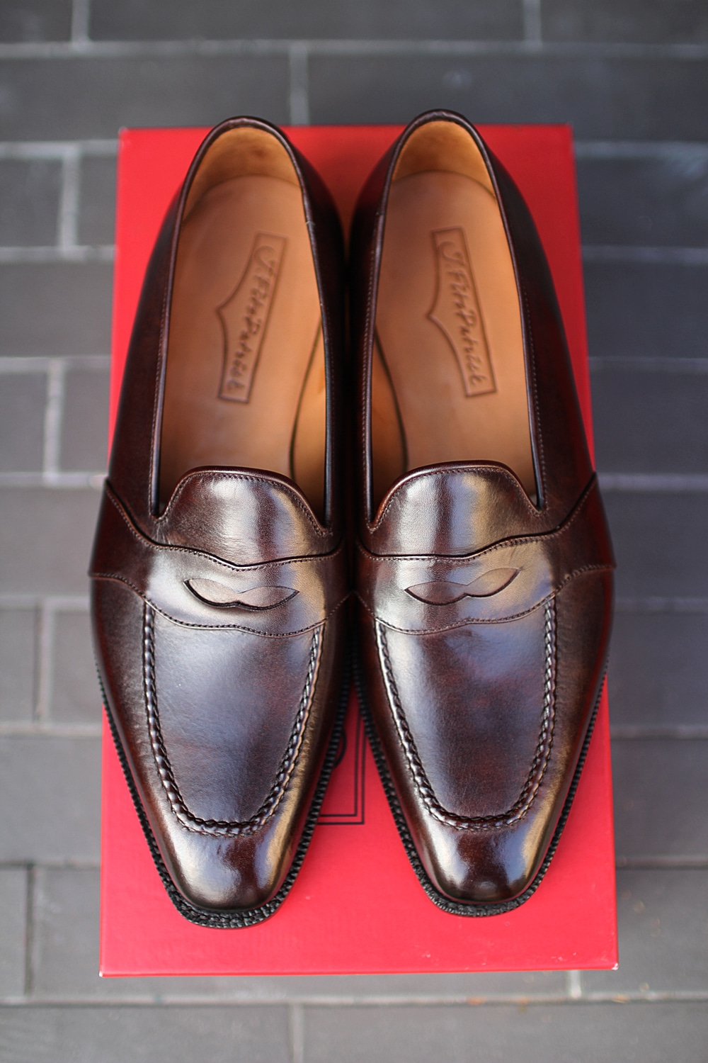 Penny loafer Brown MADISONJ.fitz patrick(제이피츠패트릭)