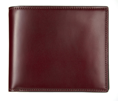 cordovan middle wallet burgundy