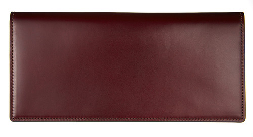 cordovan long wallet burgundy