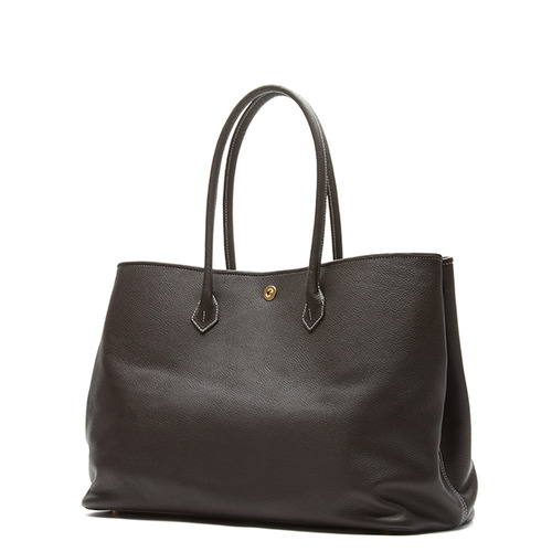 Dark Brown Tote bag - ADAM'S PEACH