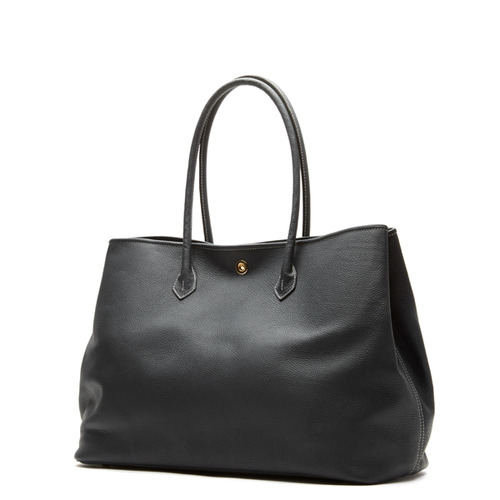 BLACK Tote bag - ADAM'S PEACH