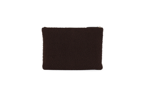 CASENTINO clutch - DARK   BROWN