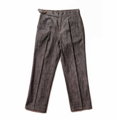 Denim Gurkha Pants_Gray