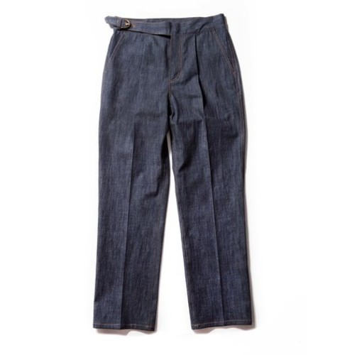 Denim Gurkha Pants_Blue