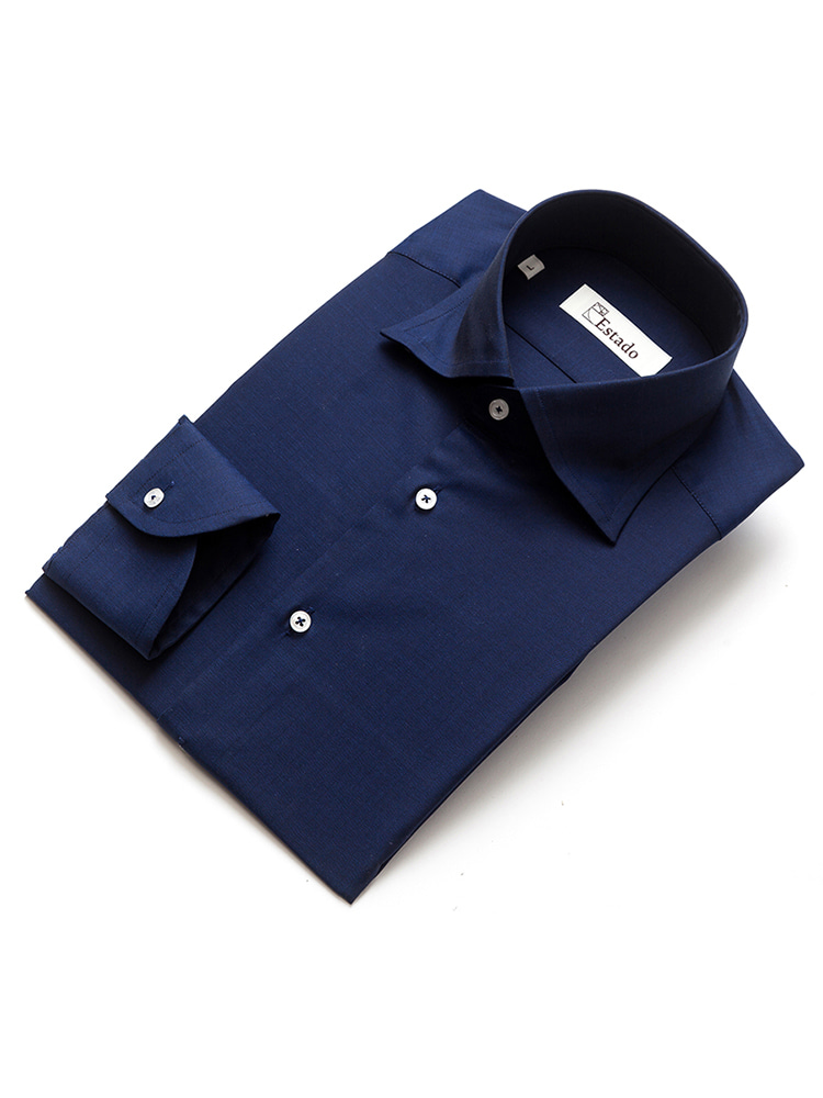 Cotton shirts - Solid (Navy)