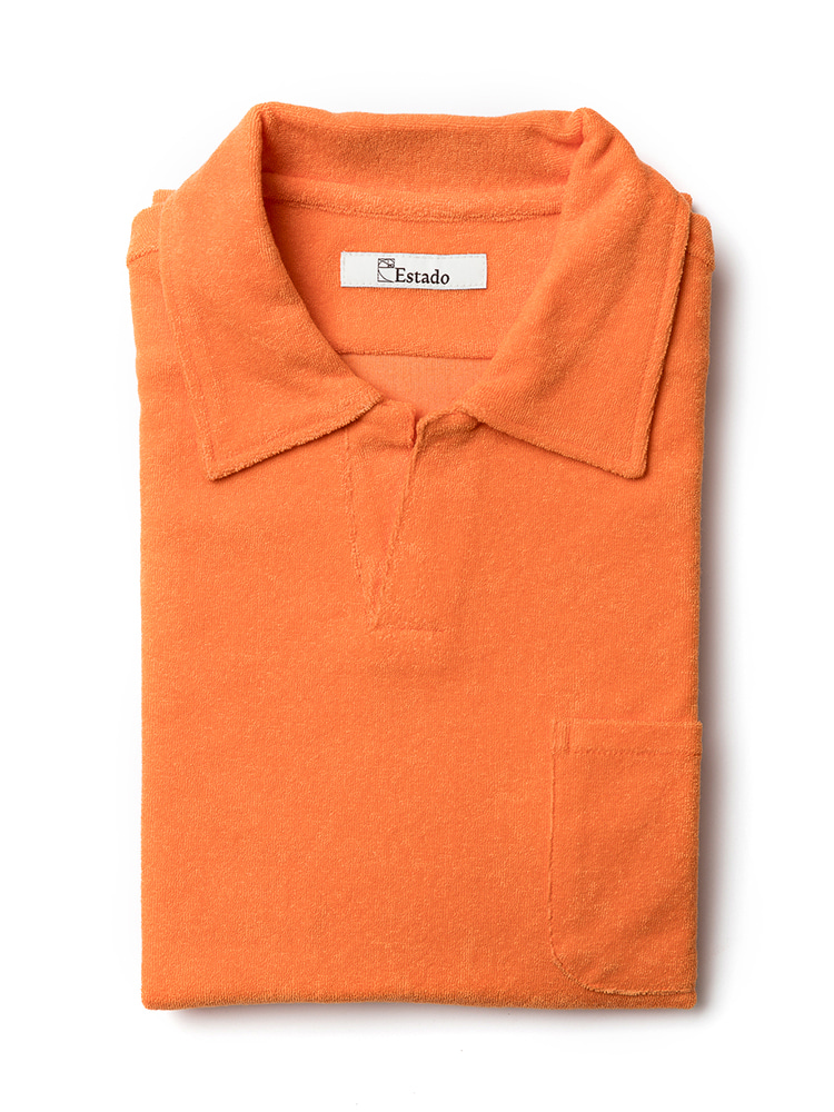 Pique Shirts - TERRY COTTON (Orange)