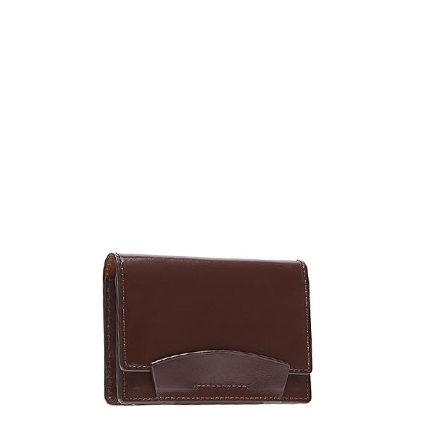 Brown Bridle Leather Card case
