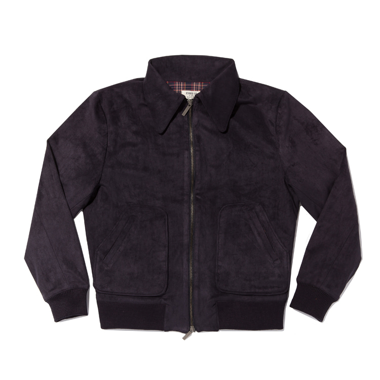 A2 Jacket / Suede Navy