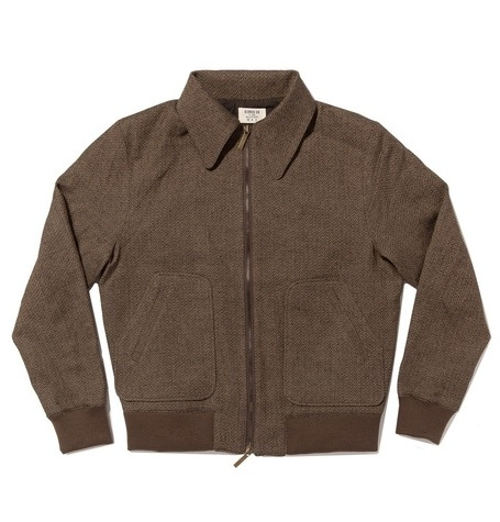 A2 Jacket / Herringbone Brown