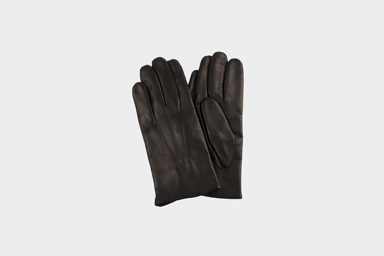 omega gloves Nappa Black (남성용)