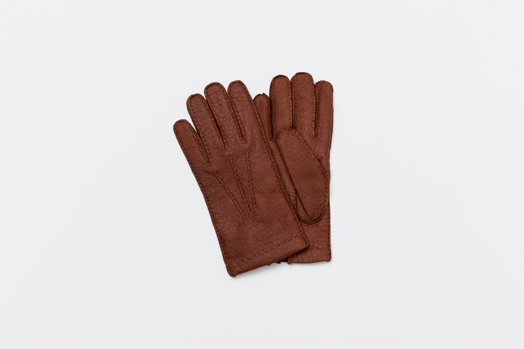 omega gloves Peccary Gold(Tabac)  (남성용)오메가글러브