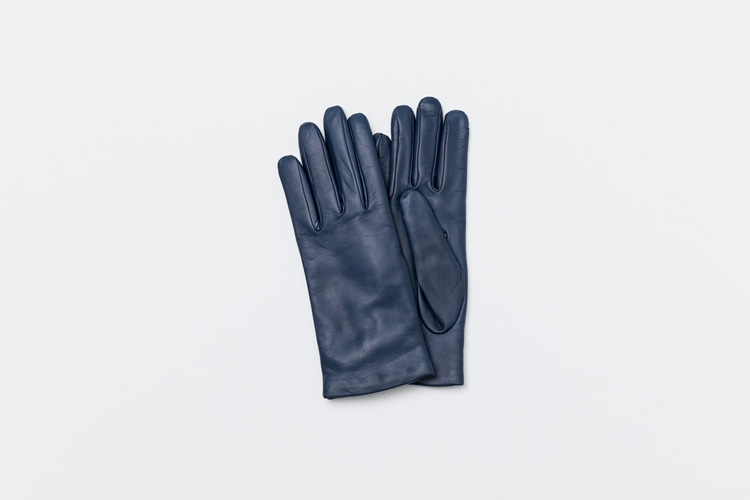 omega gloves Woman Nappa Goblin (밝은 네이비, 여성용)