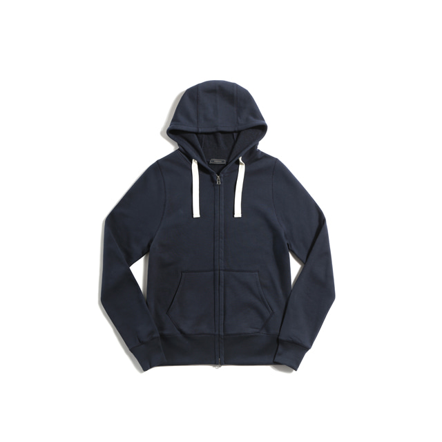 Sweat zip parka(NAVY)Pistilo