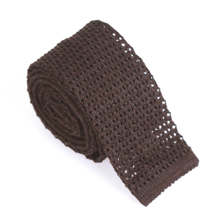 SOLID KNIT BROWNPRETO