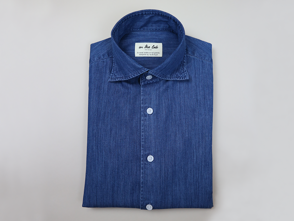 signature shirt [denim]in the lab(인더랩)