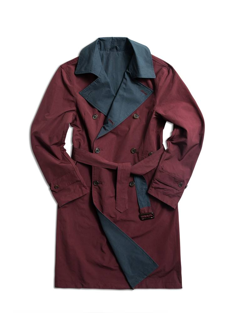 reversible trenchcoat burgundyAMFEAST(암피스트)