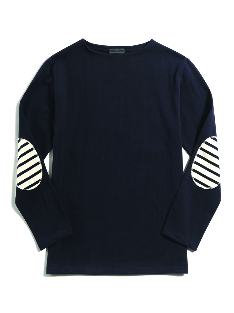 Navy boatneck shirtsPISTILO(피스틸로)