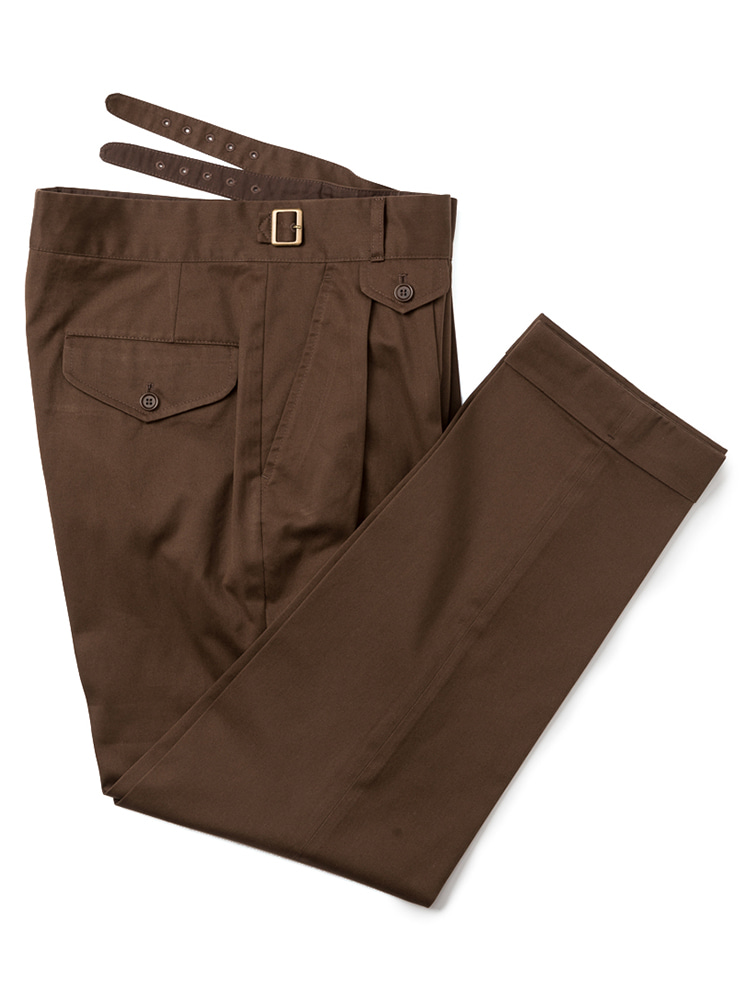 Gurkha pants (Brown)ESTADO(에스타도)