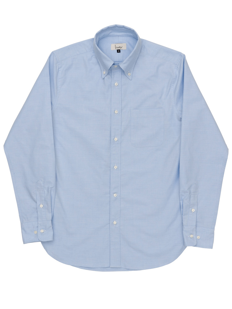 lvr oxford shirt (Light Blue)livrer(리브레)