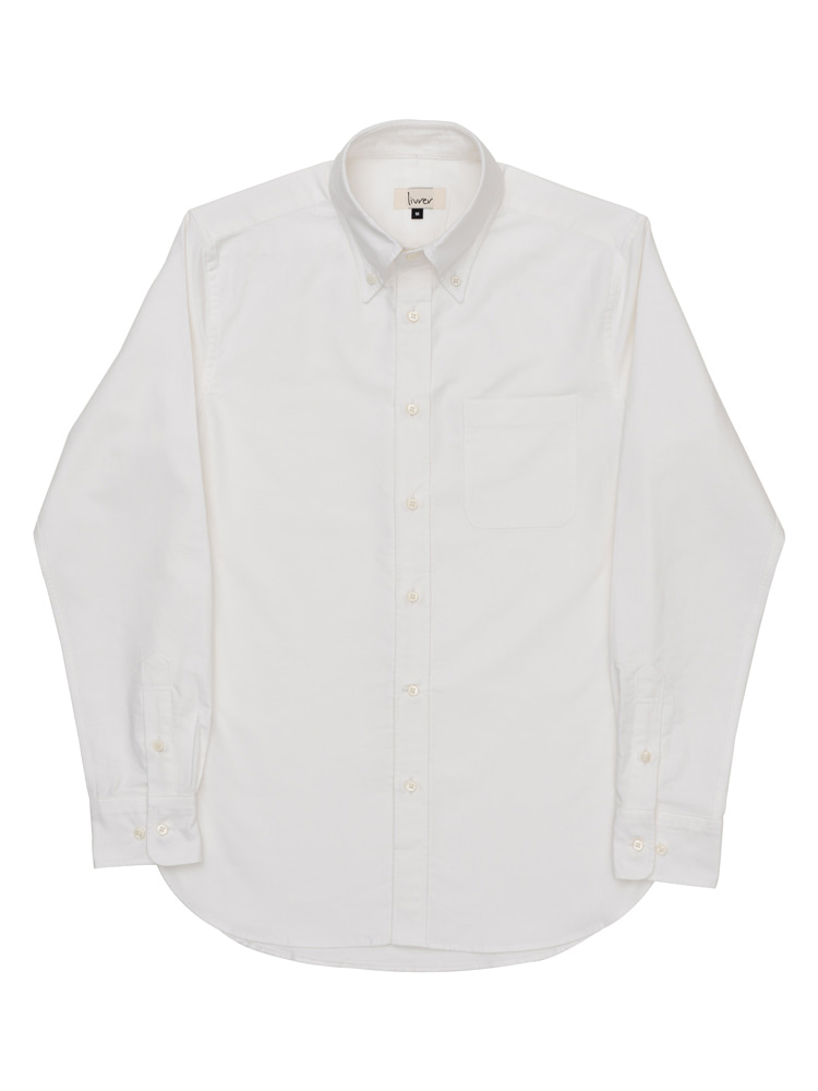 lvr oxford shirt (White)livrer(리브레)