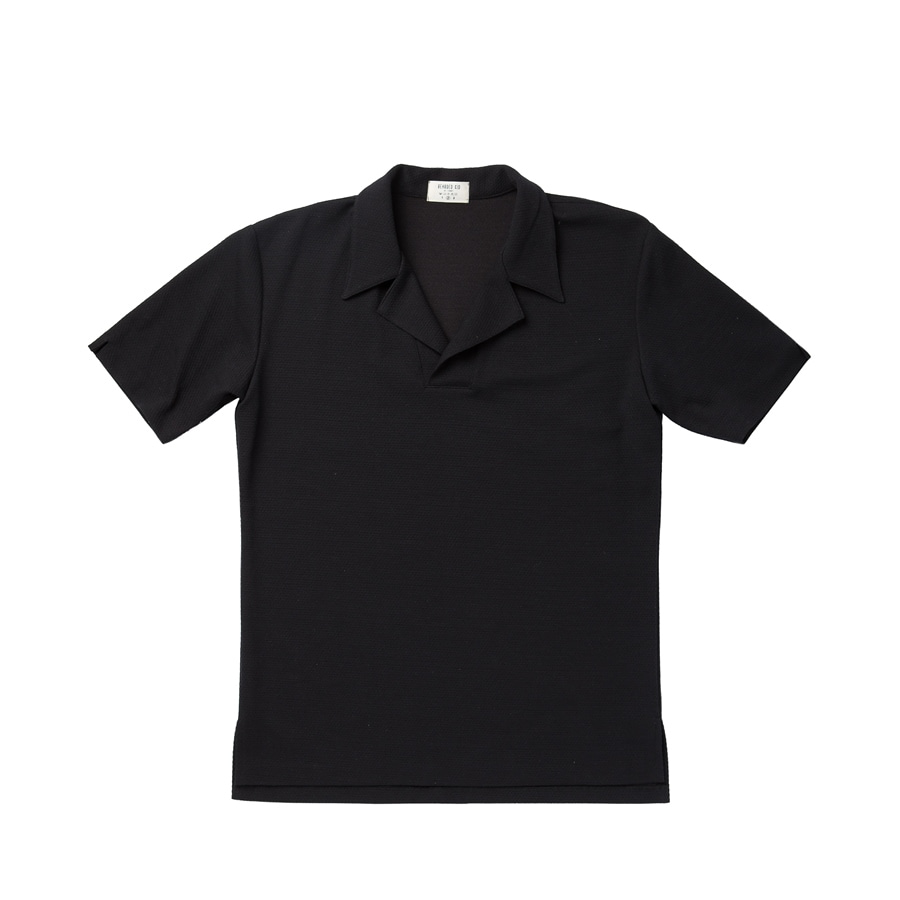 18P5 Polo shirts / BlackBEARDED KID(비얼디드키드)