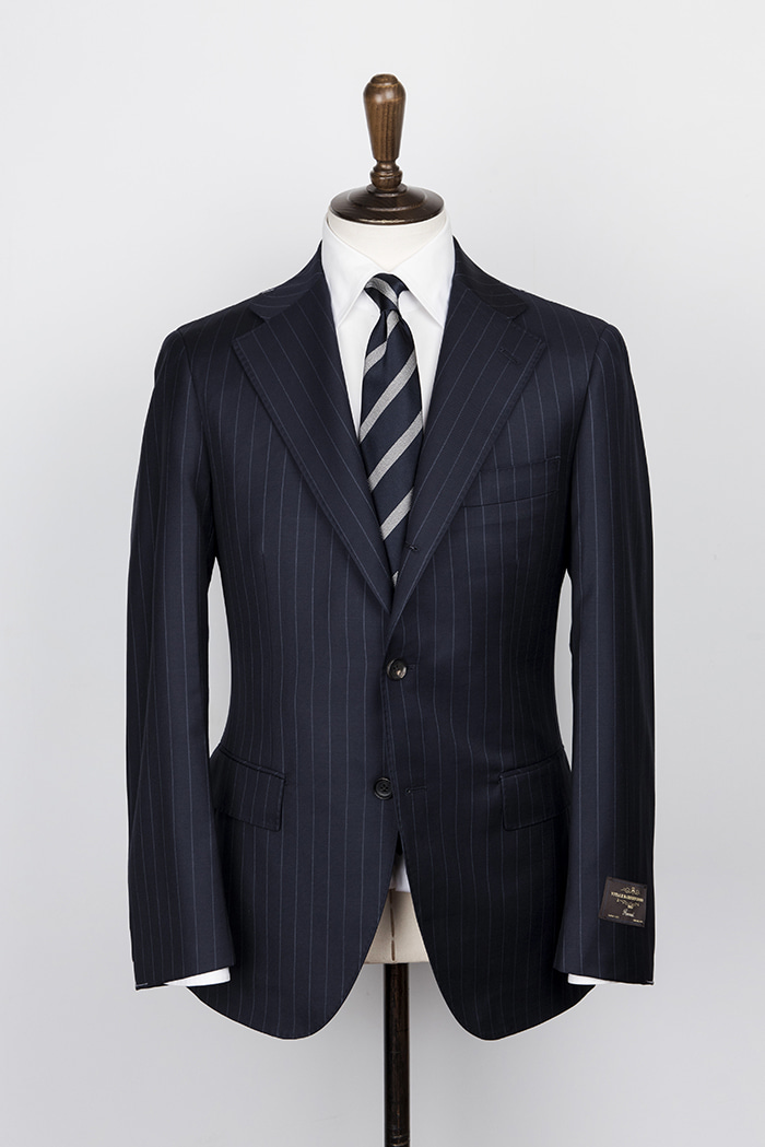 navy stripe suitduesignori(두에시뇨리)