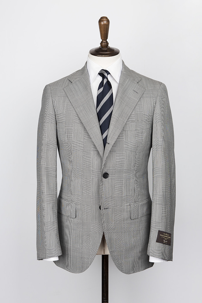 glen check grey color suitduesignori(두에시뇨리)