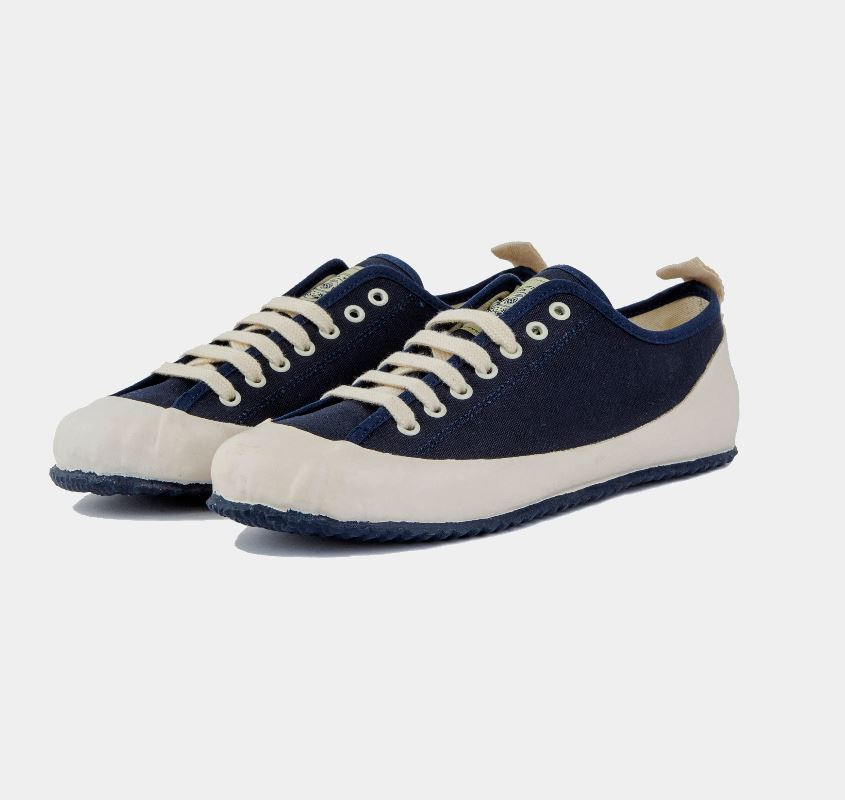 MARINE TYPE2 LACE UP (NAVY/ECRU)NORTH SEA CLOTHING