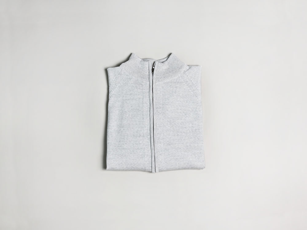 knit zip-up [Ivory]in the lab(인더랩)