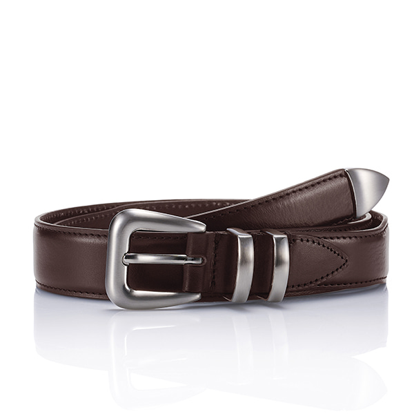 110 Leather Belt - BrownSAVAGE(세비지)
