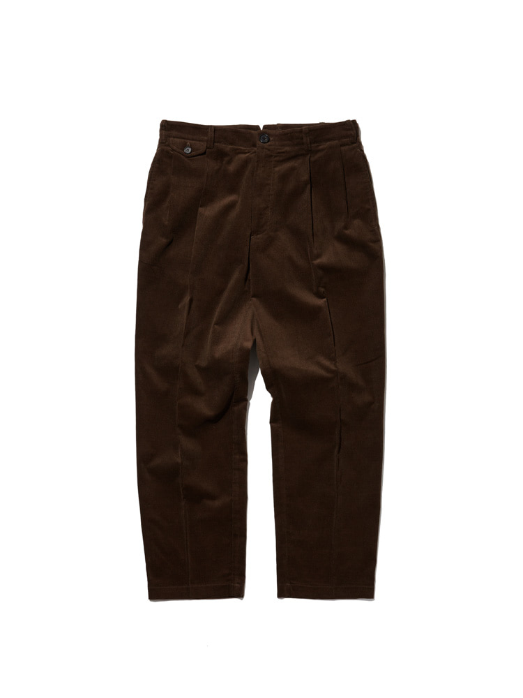MOOR CORD PANTS BROWNDGRE(디그레)