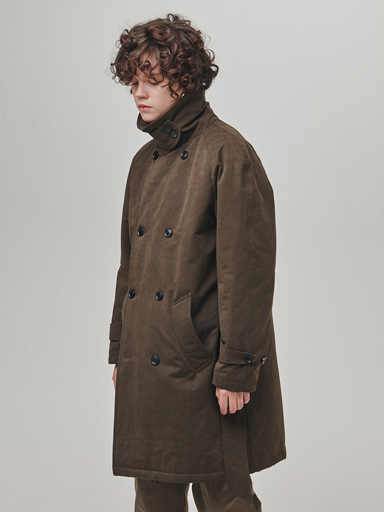 18FW Warming Robe Padding Coat Brown ColorESFAI(에스파이)