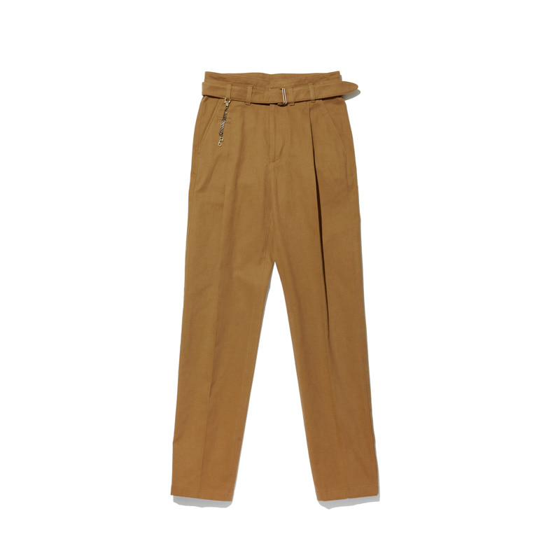 Cotton Trousers 'VENT' Light BrownCHADPROM(채드프롬)