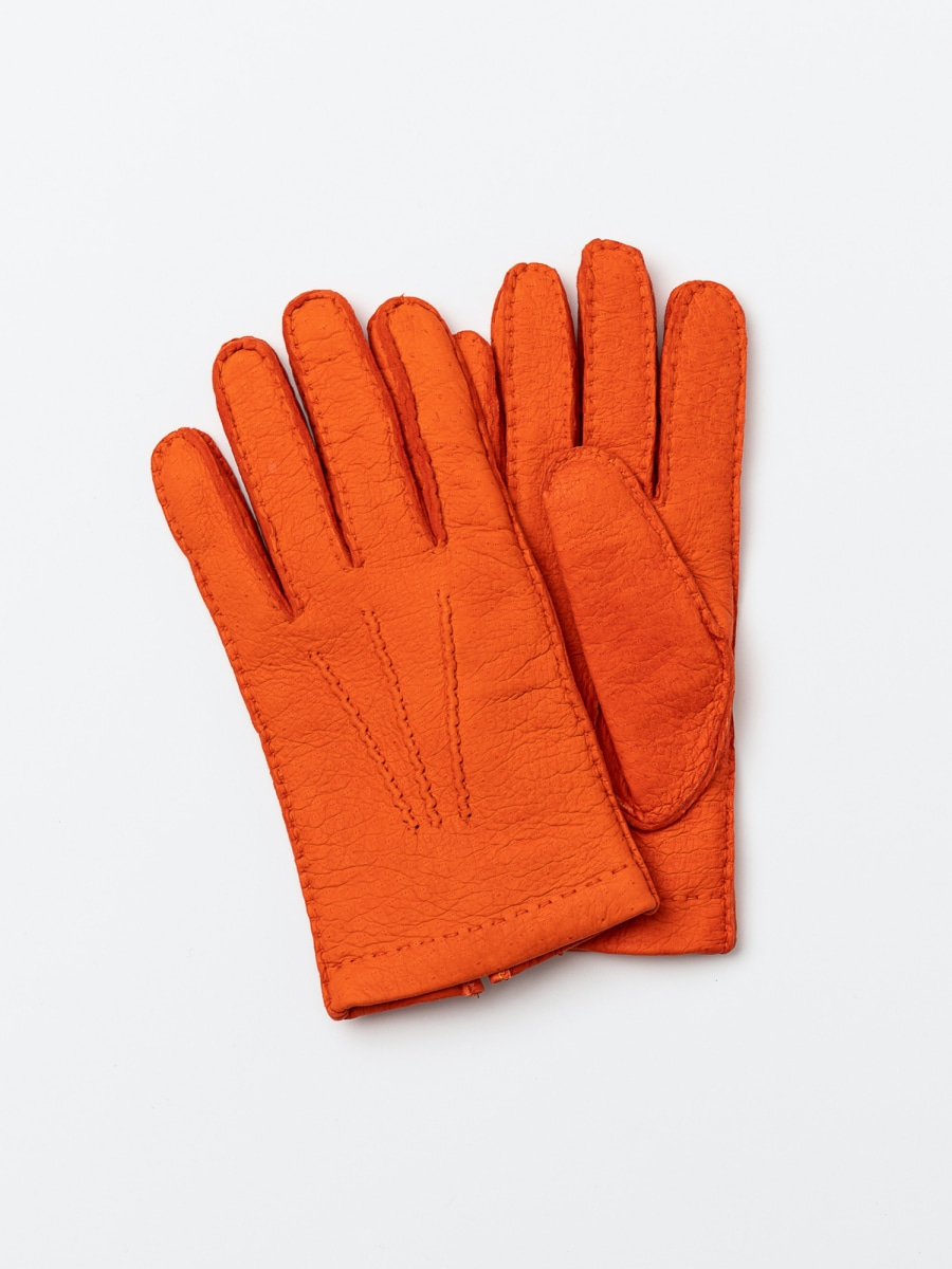 omega gloves Peccary Orange오메가글러브