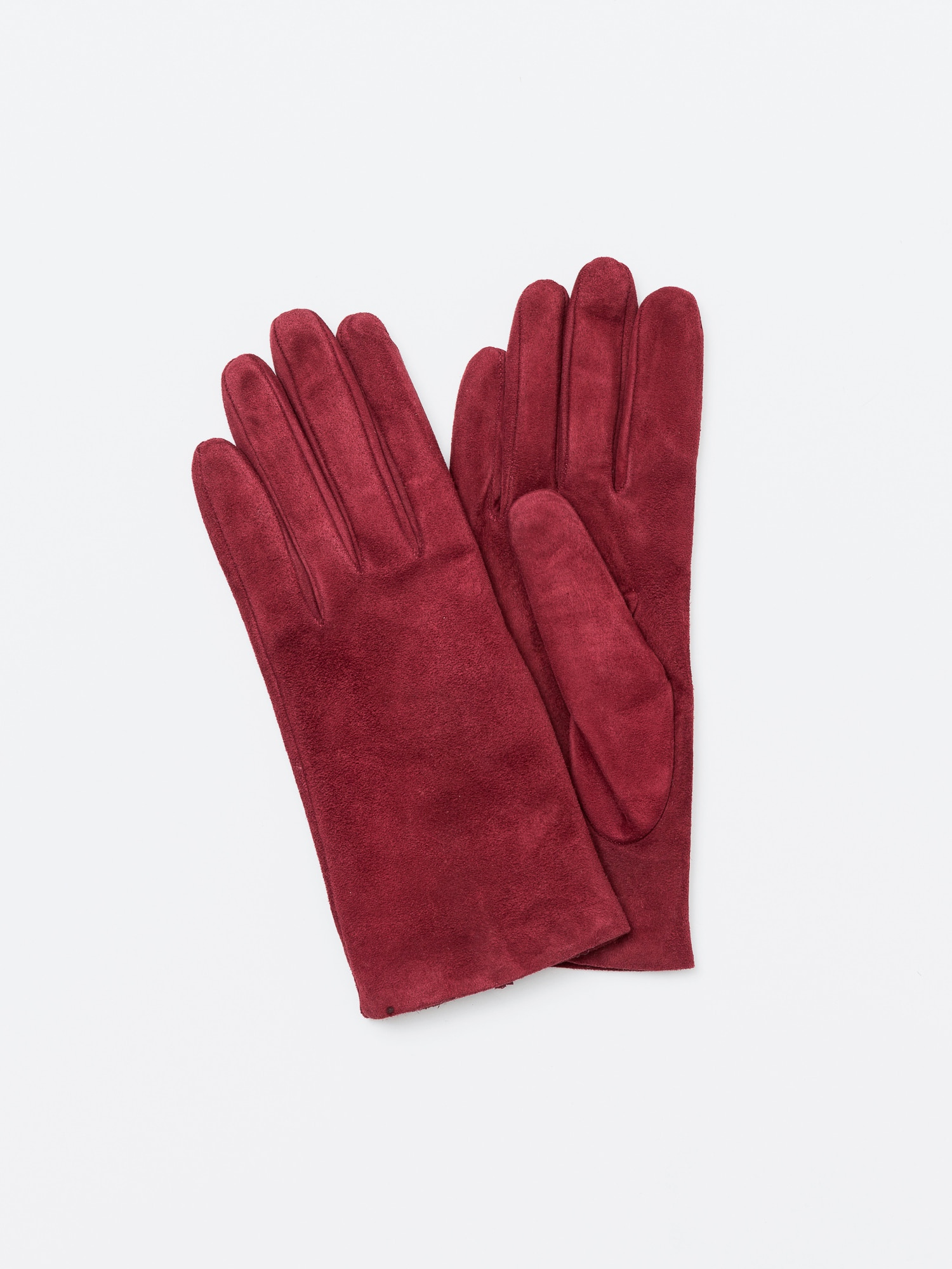 Omega gloves Nappa Bordeaux Suede (Woman)오메가글러브