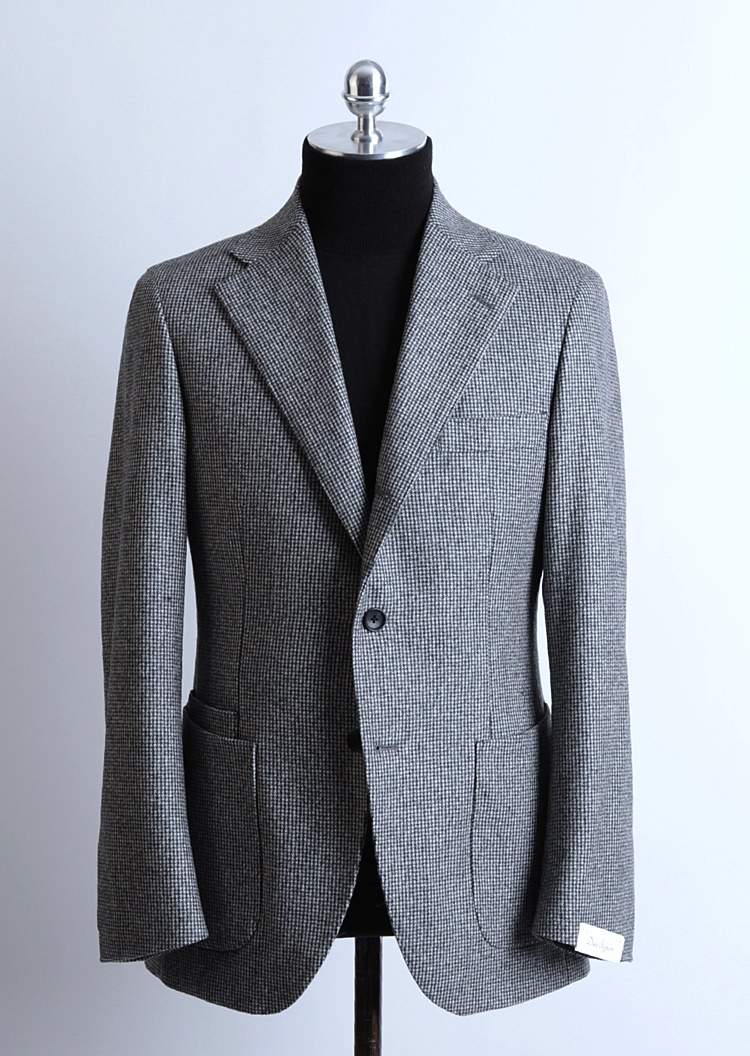 Gray Color Hound Tooth Check JacketDuesignori(두에시뇨리)