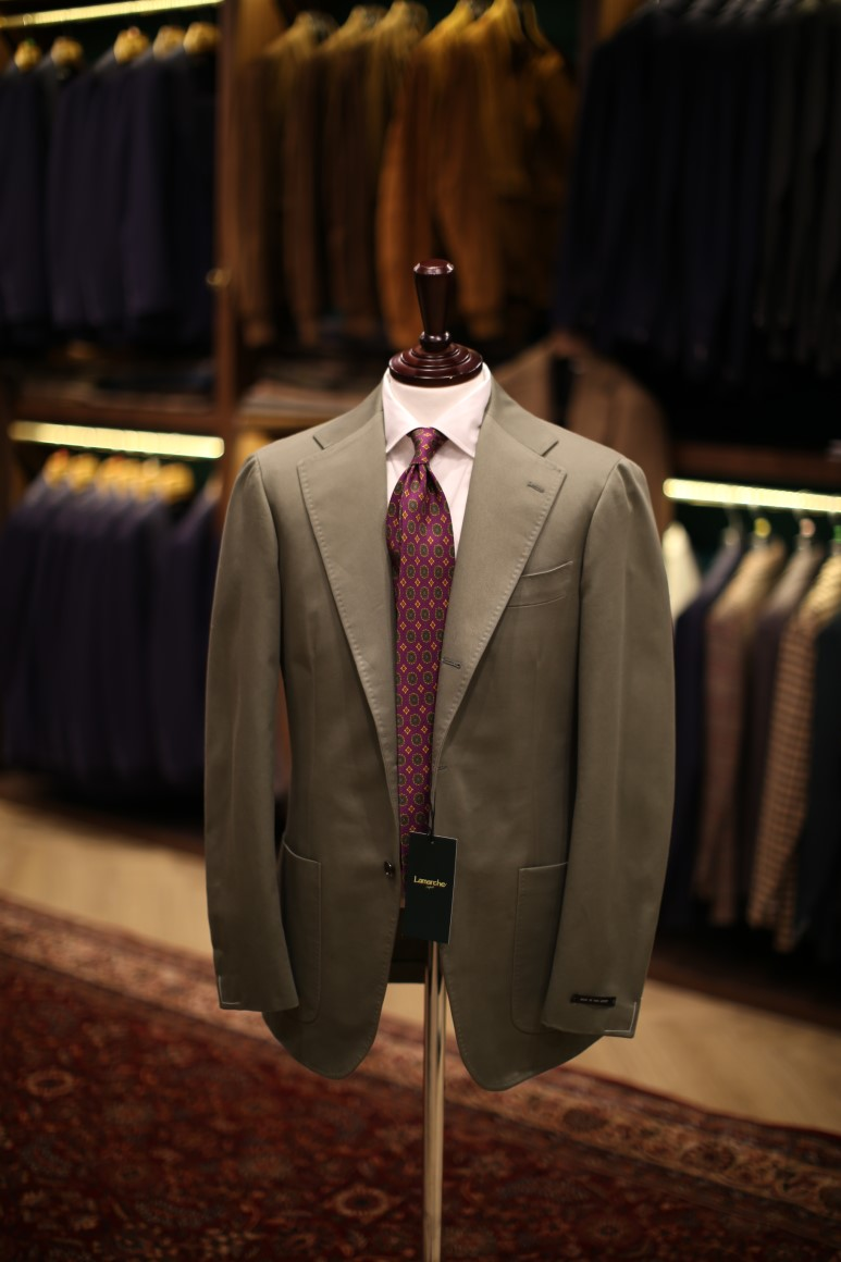 LMJ-05 Cotton Olive  SUITLamarche Napoli made by RingJacket (라마르쉐나폴리by링자켓)