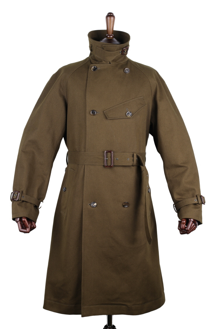 Aviator Dispatch Trench Coat / Military OliveARTTITUDE(아티튜드)