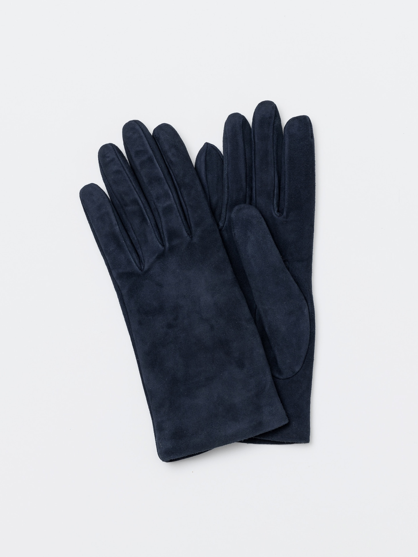 Omega gloves Nappa Navy Suede (Woman)오메가글러브