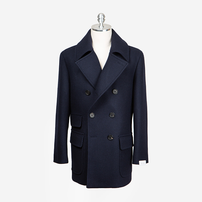 Navy Color PEA COATduesignori(두에시뇨리)