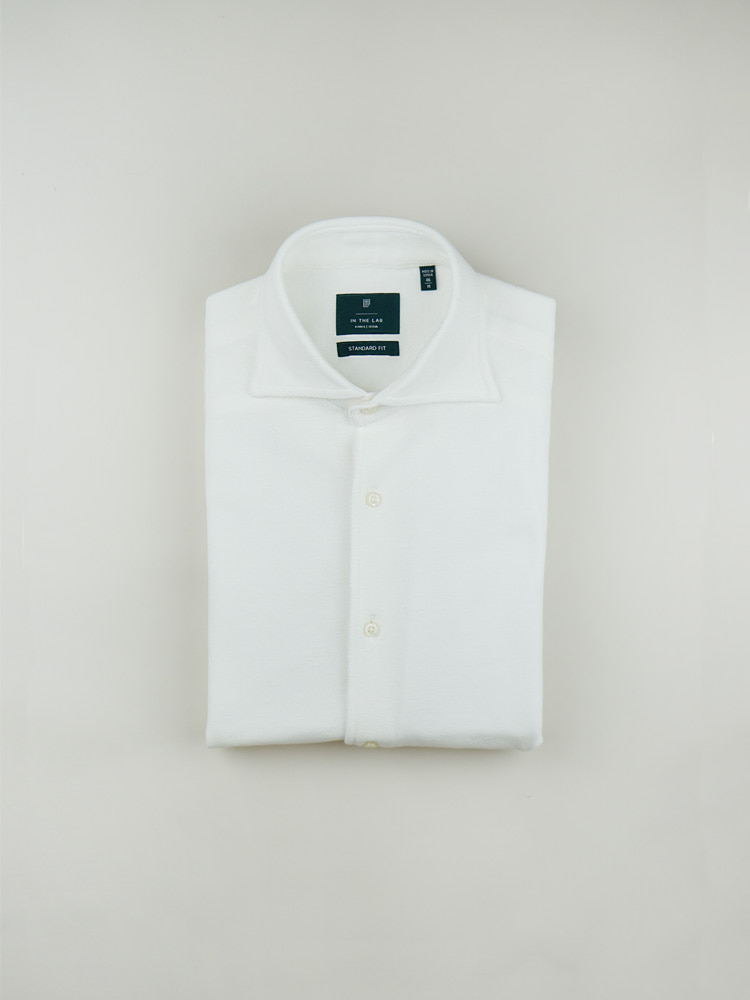 19 s/s Pique Shirt off whitein the lab(인더랩)