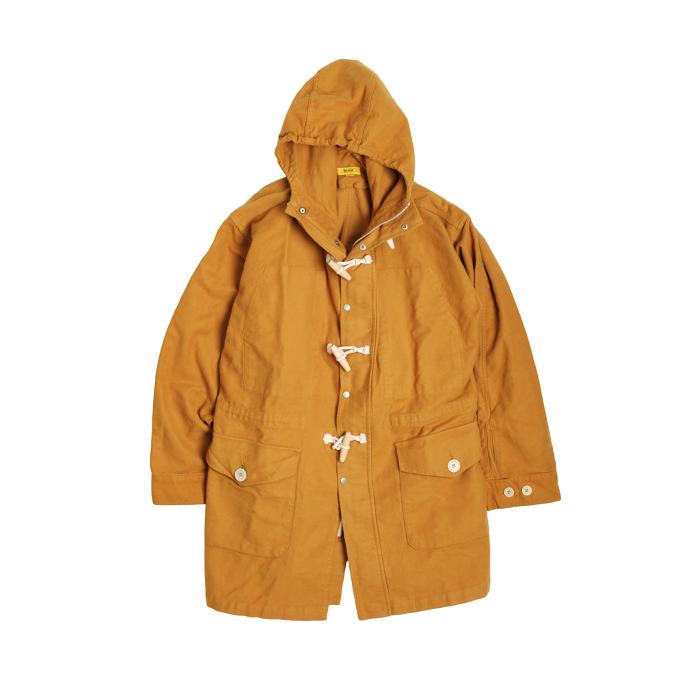 MOLESKIN TEDDY SHELL-PARKA [MUSTARD]THE RESQ(더레스큐)
