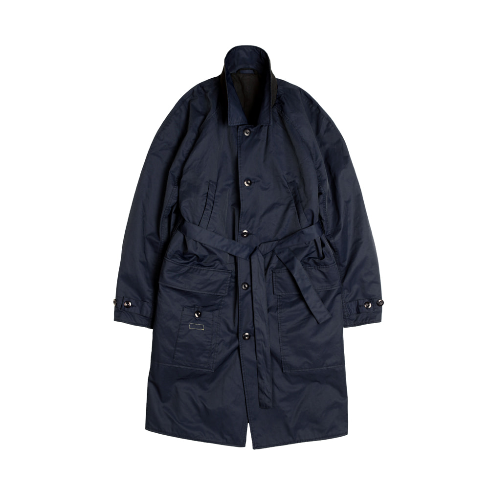 LAMBARENE SHOPCOAT [DARK NAVY]THE RESQ(더레스큐)