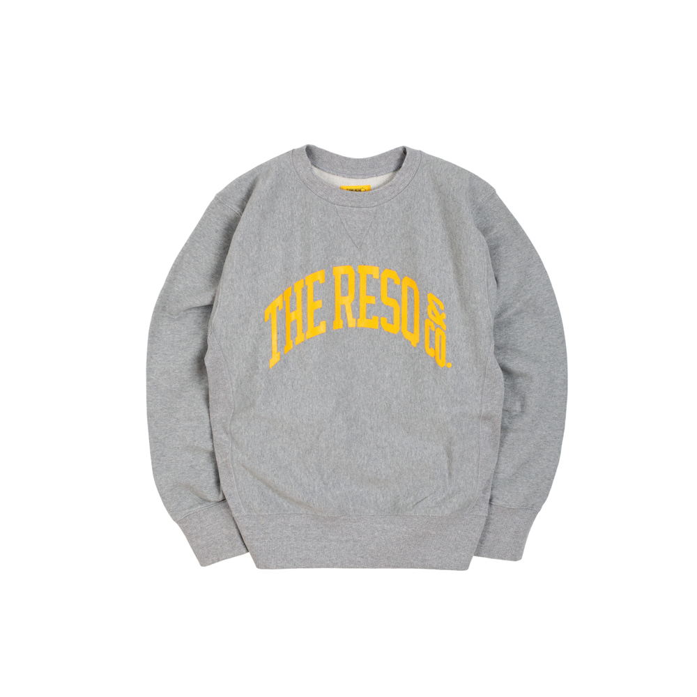 BALLGAME SWEATSHIRT [M/GREY]THE RESQ(더레스큐)