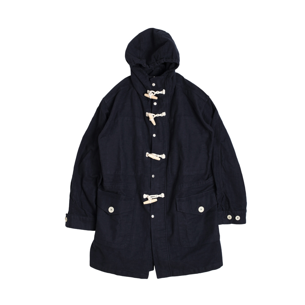 MOLESKIN TEDDY SHELL-PARKA [NAVY]THE RESQ(더레스큐)