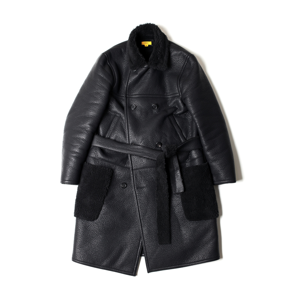 WILLIAMS COAT [BLACK]THE RESQ(더레스큐)