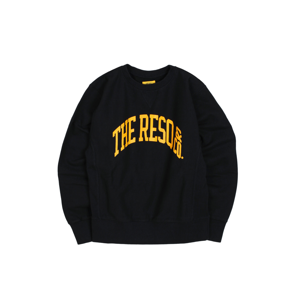 BALLGAME SWEATSHIRT [BLACK]THE RESQ(더레스큐)