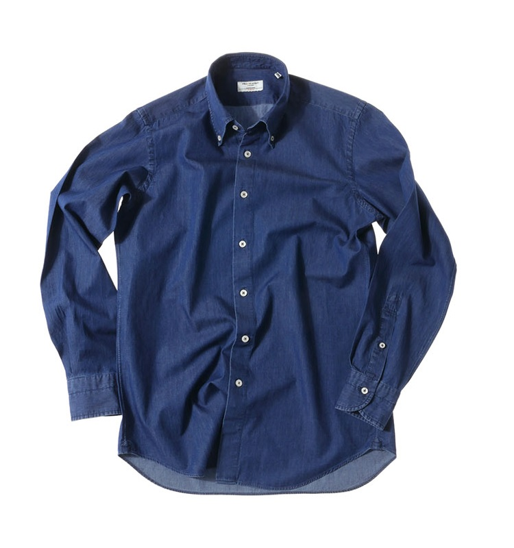 DENIM shirts dark denimPRODE SHIRT(프로드셔츠)