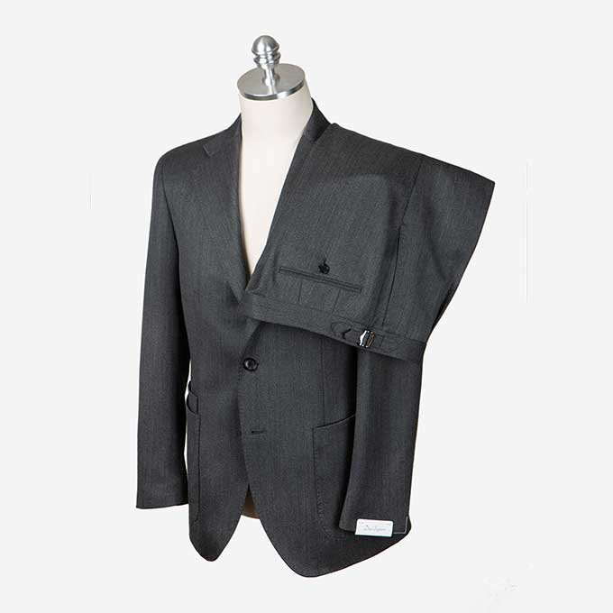 Dark Gray Color Covert Suitduesignori(두에시뇨리)