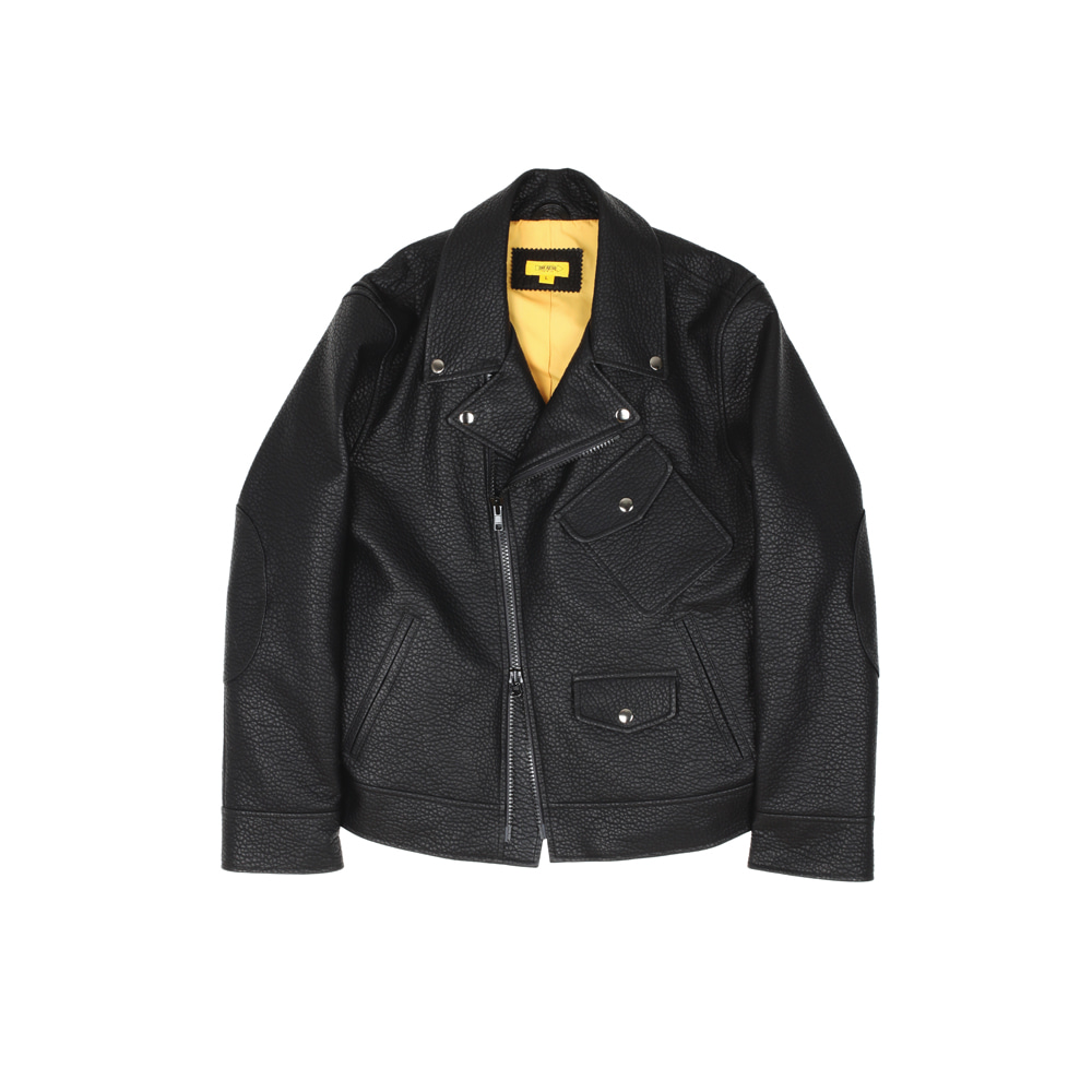 더레스큐(THERESQ)WARHOLA BIKER JACKET [BLACK]
